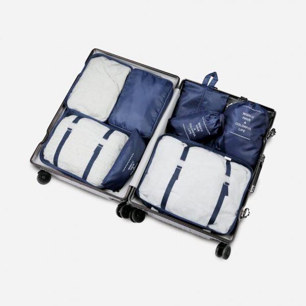 Da Viaggio – Set da 8 Pezzi di Cubi da Imballaggio