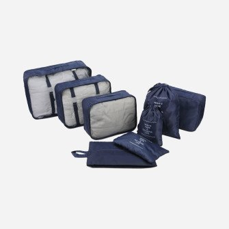 Travel Organizer – 8 Pc Packing Cube Set