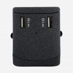 Adaptateur de Voyage Universel Nordace avec Ports de Chargement USB et USB Type-C