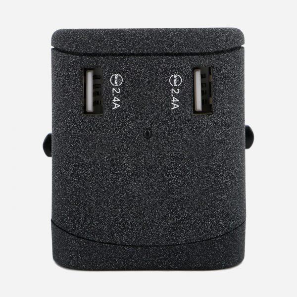 Nordace Adaptador Universal de Viaje con Puerto de Carga USB y USB Tipo C