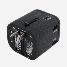 Universal Travel Adapter w/ USB & Type-C – 40% Off