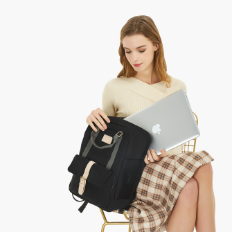 Nordace Eclat - حقيبةظهرخفيفة ومتينة مع حجرة لتخزين الكمبيوتر المحمول