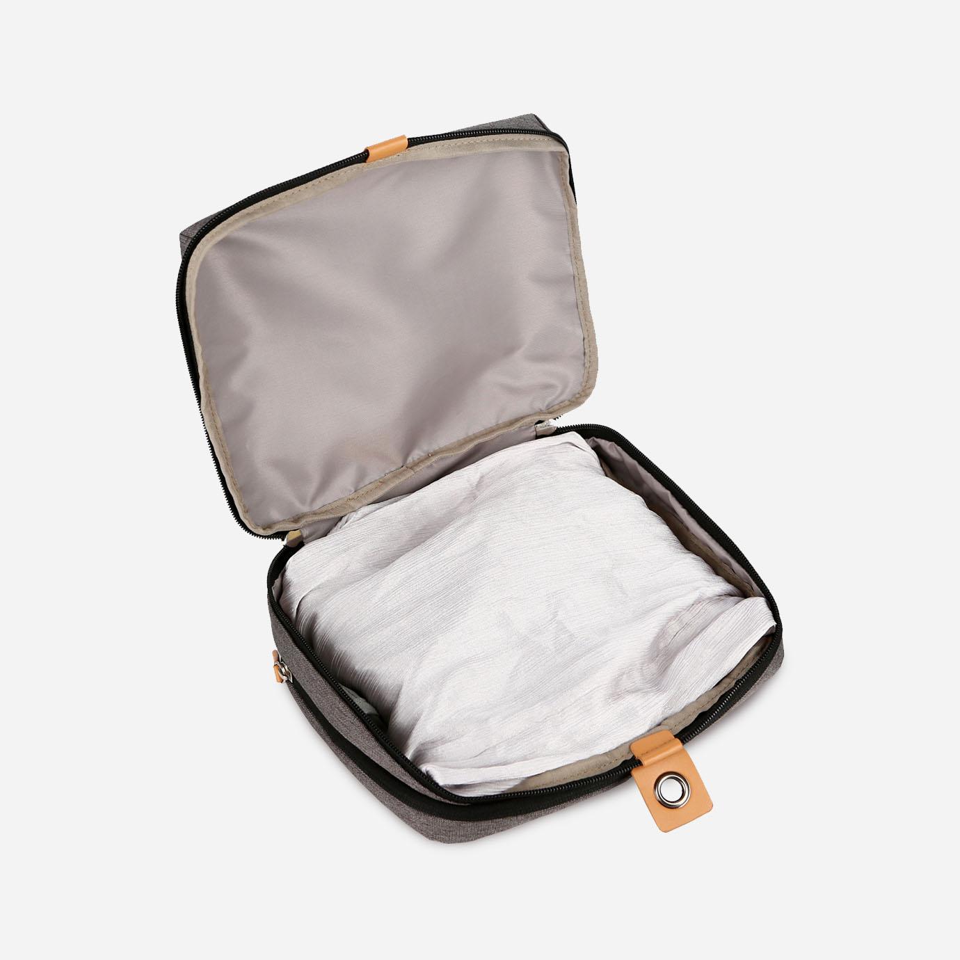 Pack Voyage : 2X Cubes de Rangement& 1X Trousse de Toilette