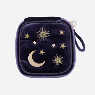 Moonstar Travel Jewelry Case Organizer