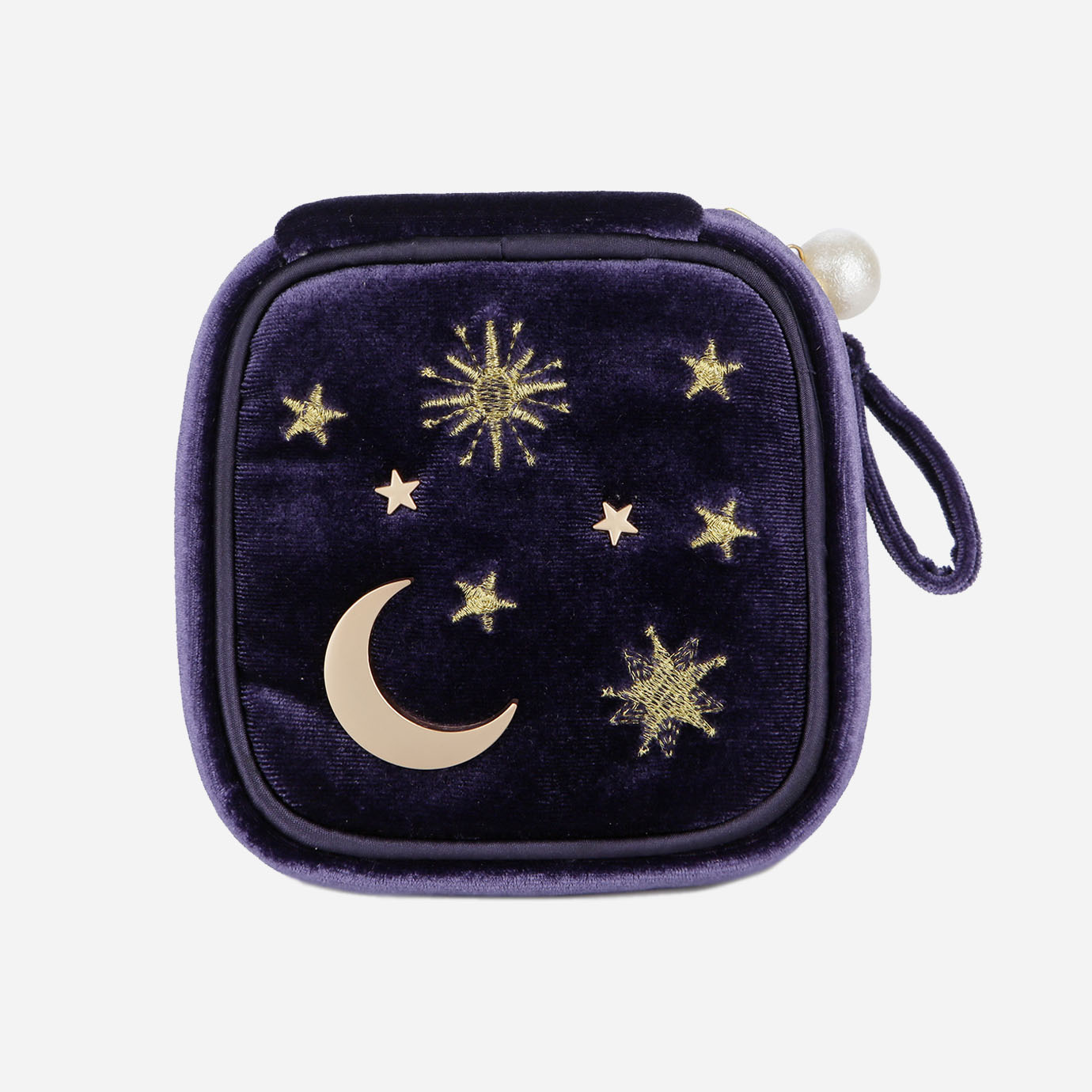 Moonstar Travel Jewelry Case Organizer