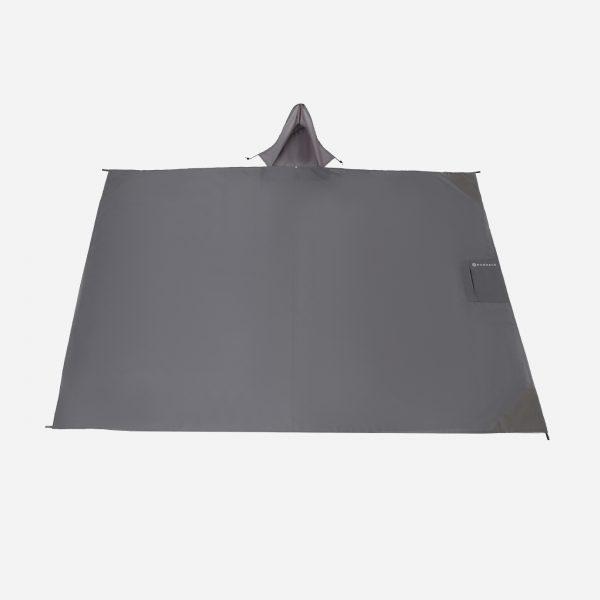 Multipurpose Water-Resistant Convertible Picnic/Beach Mat & Raincoat