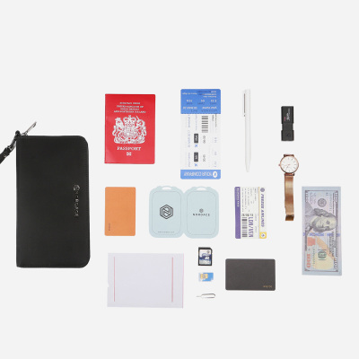 محفظة السفر من NORDACE - محفظة ذكية حاجبة لـRFID