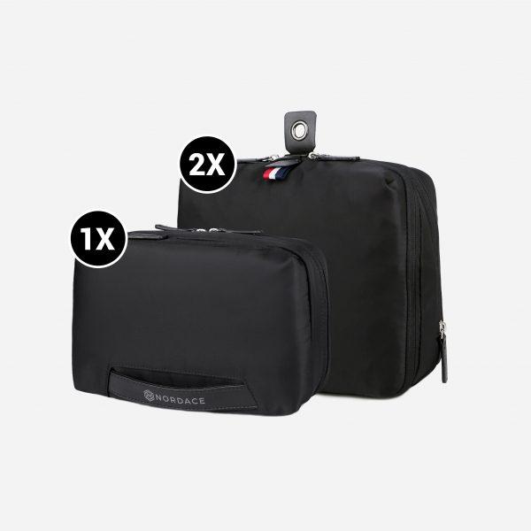 Poly Set Bundle: 2X Packing Cubes & 1X Wash Pouch (Bundle Special)