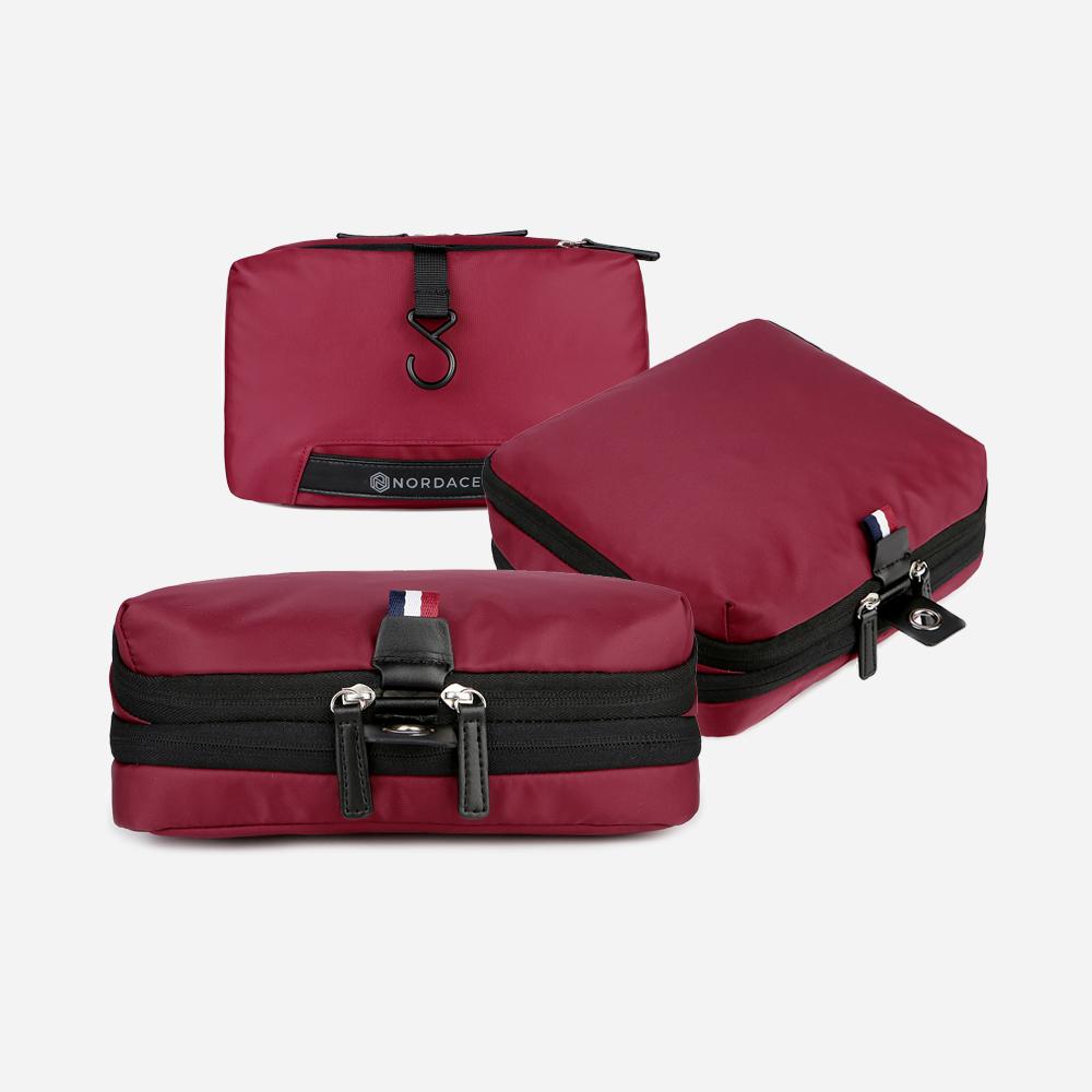 Packuum Set Paket: 2X Packwürfel & 1X Waschbeutel